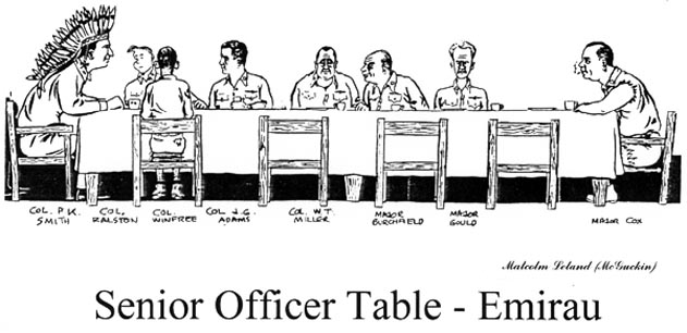 Senior Officer Table - Emirau