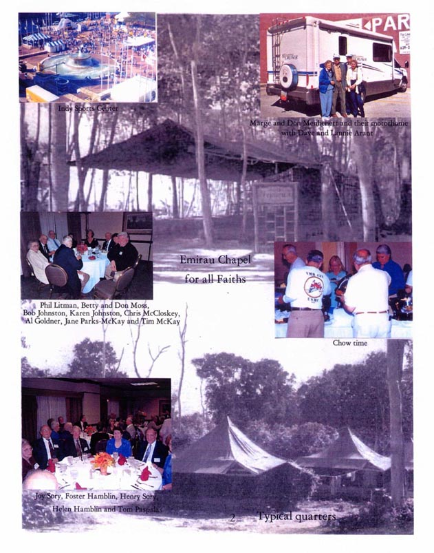 2003 Reunion Booklet: Indianapolis, IN